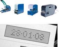 Datum-Perforiergeräte / Datum-Perforiermaschinen