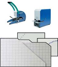 Ecken-Schneide- und Perforiergeräte / Ecken-Schneide- und Perforiermaschinen