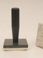 Lebensmittel-Stempel mit öl- und säurefester Gummi-Textplatten
