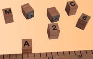 Buchstabenstempel / Typendruckerei / Plakatdruckerei / Kinderdruckerei
