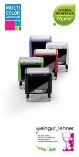 Printy Selbstfärber MCI / Multi Color Impression / mehrfarbige Abdrucke