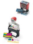 Printy- und Professional-Selbstfärbestempel