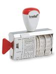 Wortband-Stempel